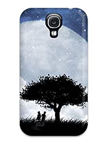 Fashion Protective Love On The Moon Case Cover For Galaxy S4