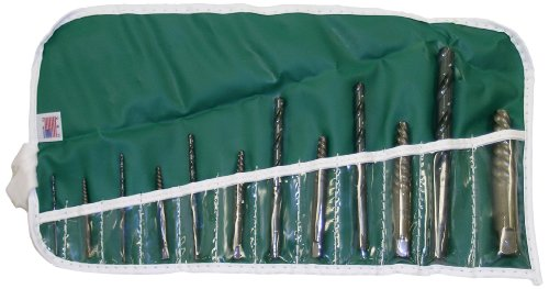 Cleveland C00910 Ezy-Out 12 Piece Screw Extractor Set (Pack of 1) ()
