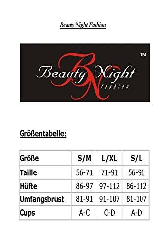 Suspender corset string of Beauty Night Fashion Black