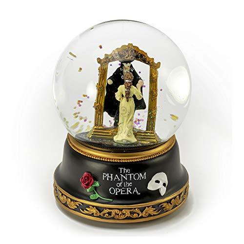 - Phantom of The Opera - Phantom and Christine Mirror Scene Musical Water Globe - Over 400 Song Choices - Thriller (Michael Jackson)