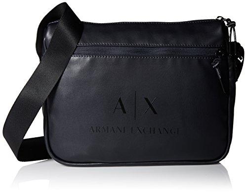 Armani Exchange Men's Coated Reported Bag Accessory, -blue/black, - Exchange Mens Bags Armani