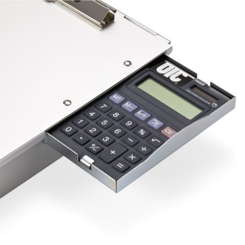 Officemate Aluminum Form Holder, Storage with Calculator, Fits Forms up to 8.5 x 12-Inches (83201) Photo #3