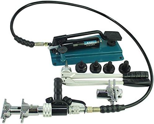 フットポンプ16〜32ミリメートルPEX-1632Gとツール配管ツールをクランプ用油ペックスパイプ圧着ツール