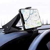 IZUKU Support Portable Voiture, Support Téléphone Voiture, Tableau de Bord pour Smartphone et GPS