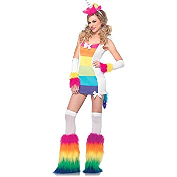 11952c6d685a2 Magical Unicorn Adult Fancy dress costume  Amazon.co.uk  Toys   Games