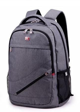 CinCin Suiza Middle School Estudiantes en Saber Mochila Business Bag Bolsas De Viaje Equipaje Bolsas de regalo Gris gris: Amazon.es: Deportes y aire libre