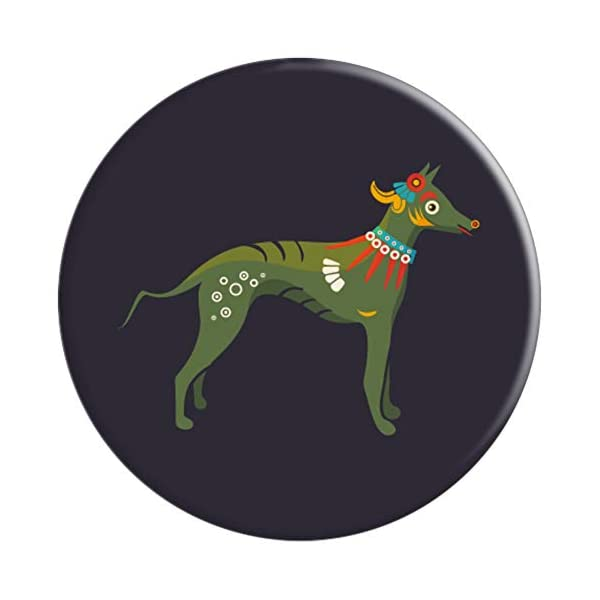 Aztec Hairless Dog Xoloitzcuintli Xolo PopSockets Grip and Stand for Phones and Tablets 3