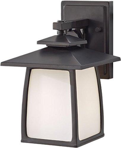(Feiss OL8500ORB Wright House Outdoor Patio Lighting Wall Lantern, Bronze, 1-Light (7