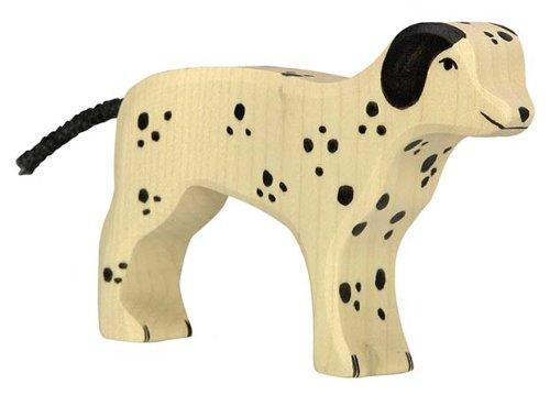 Holztiger KG 80062 Dalmatian Dog Toy Figure C /& J Direct GmbH /& Co
