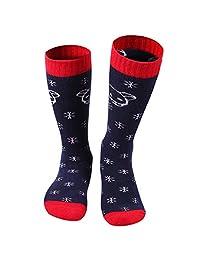 Gogokids Boys Girls Long Ski Socks Padded Thermal Sport