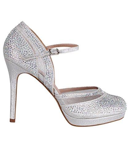 Cross Front Patent Heel (Statement Glamour Evening Heels)
