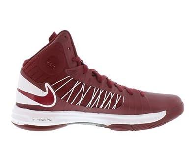 Amazon.com | Nike Hyperdunk TB lunarlon 524882-600 Red/White/Burgundy Men\u0027s Basketball  Shoes (Size 10.5) | Basketball