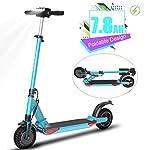 41ndJVlzLDL. SS150 ZQQ Monopattino Elettrico Pieghevole, E-Scooter per Adulti Regolabile in Altezza Permuta con Fanale Posteriore A LED…