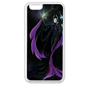Diy White Soft pc(Hard shell) Disney Sleeping Beauty Maleficent For Iphone 4/4S Case Cover Only fit For Iphone 4/4S Case Cover