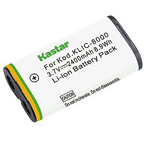 Kastar Charger, Battery for KLIC-8000 K8000