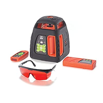 899 Prolaser - Rotating Line Laser w/remote control, detector, glasses and charger