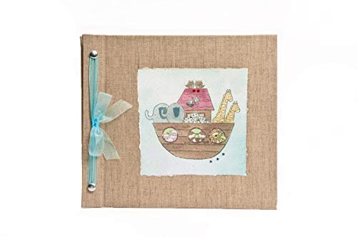 Hugs and Kisses XO Noah's Ark Baby Memory Book