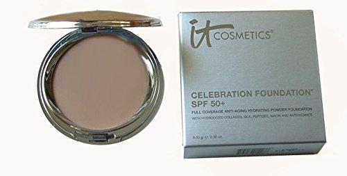 It Cosmetics Celebration Foundation SPF 50+ Full Coverage Anti-aging Hydrating Powder Foundation