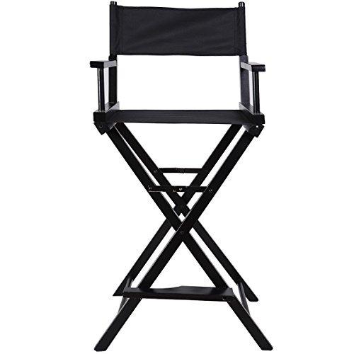 Heaven Tvcz Artist Directors Chair Wood Makeup Professional Black New Foldable Light Weight For Beauty Makeup Artists