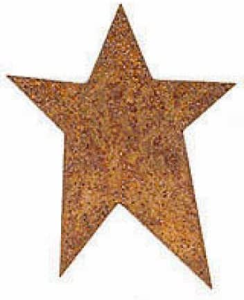 "2.25/"" Primitive Rusty Tin//Metal Barn Stars 10 Pack Dimensional 2 1//4/"" NEW"