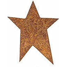 "1"" Rusty Tin Primitive Stars - Bulk Pkg of 100"