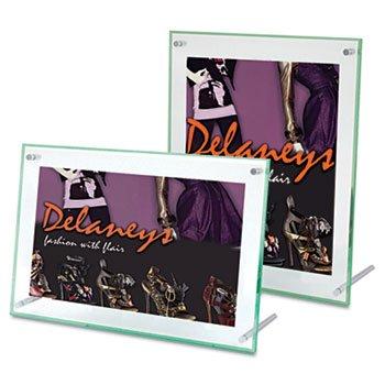 (Superior Image Beveled Edge Sign Holder, Acrylic, 11 x 8 1/2, Clear)