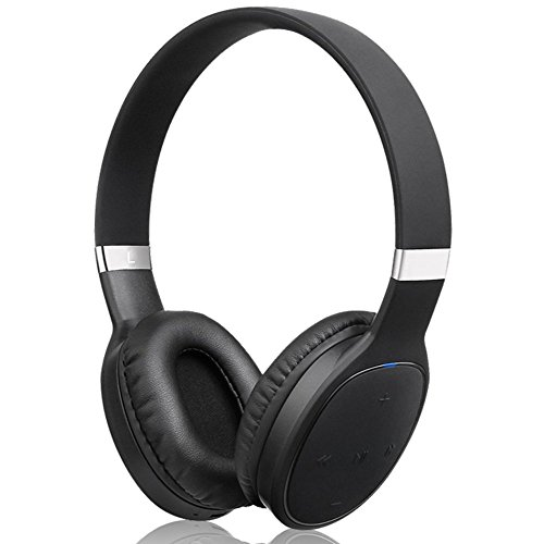 delicate TONSUM Wireless Headphones Over Ear, Bluetooth 4.1 On-Ear Headset with Mic, Lightweight Rechargeable Hi-Fi Stereo Earphone, Wired and Wireless Adjustable Headsets for Cell Phone