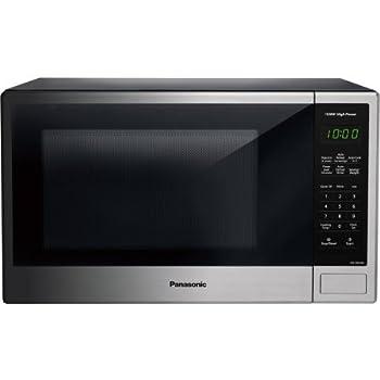 Amazon Com Panasonic Nn Sb646s 1200w 1 2 Cft Stainless