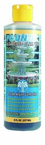 EasyCare FounTec Algaecide and Clarifier, 8 oz. Bottle by EasyCare