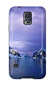 Fashion Tpu Case For Galaxy S5- Purple Lemaire Channel Antarctica Defender Case Cover 7960487K61544221