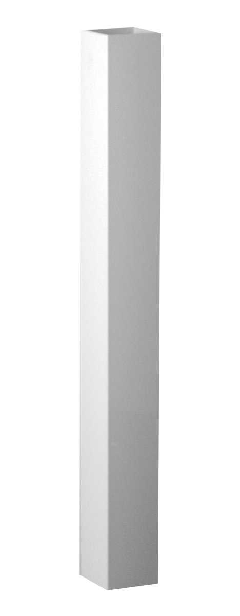 Fypon 40050408PS Post Sleeve with 3 5/8'' Inside Width, 4'' x 4'' x 96'', White