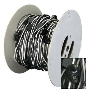 41ndNCY1c1L amazon com 100' wire harness for led marker lights 2 prong lead marker light wiring harness at readyjetset.co