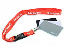 Polaroid Pocket-Sized Digital Grey Card Set With Quick-Release Neck Strap for Digital Photography For The Nikon 1 J1, J2, J3, V1, V2, V3, S1, D40, D40x, D50, D60, D70, D80, D90, D100, D200, D300, D3, D3S, D700, D3000, D5000, D3100, D3200, D3300, D7000, D5