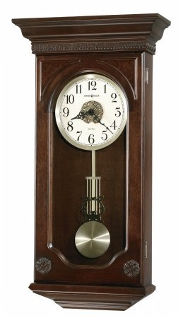 Jasmine Chiming Clock (Hampton Cherry) (27H x 14W x 5D)
