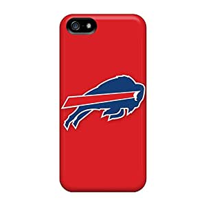 Tpu SuperMaryCases Shockproof Scratcheproof Buffalo Bills 3 Hard Case Cover For Iphone 5/5s