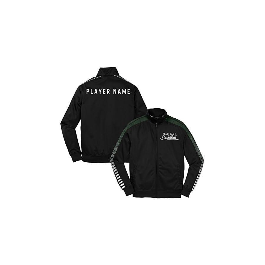 KAMAL OHAVA Custom Men's Athletic Team Tricot Warm Up Jacket
