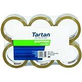 Tartan Shipping Packaging Tape, 1.88-Inch x 54.6-Yard, Tan, 6-Pack (3710T-6)