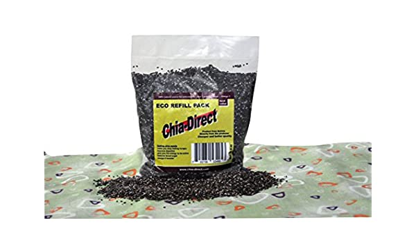 Amazon.com : semillas naturales de chia negra libre de ...
