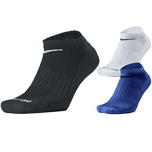 Nike Dri Fit No Show 3 Pair Golf Socks 2017