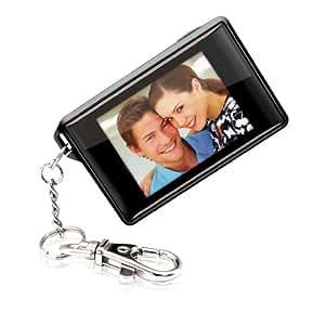 Coby DP180BLK 1.8-Inch Digital TFT LCD Photo Keychain, Black