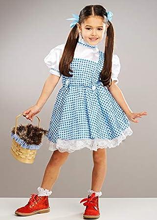 Magic Box Disfraz de Dorothy de Lentejuelas Mago de Oz para niños ...