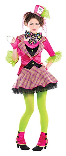 Juniors Mad Hatter Costume Size Medium (7-9) (Sexy Mad Hatter Costumes)