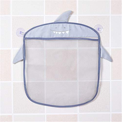 Cartoon Wall Hanging Kitchen Bathroom Storage Bags Knitted Net Mesh Bag Baby Bath Toys Shampoo Organizer Container (Good Sense Baby Shampoo)
