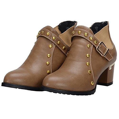 AIYOUMEI Classic Damen Brown AIYOUMEI Damen Boot Rx8w5Z8pq