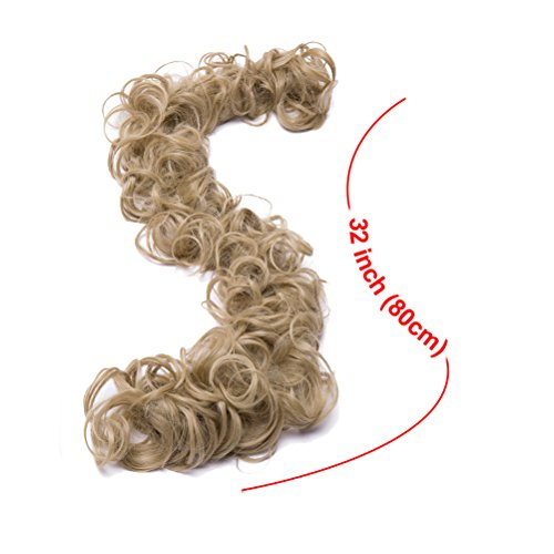 Combs Clip in Bun Claw Jaw on Updo Hairpiece Extensions Wavy Donut Chignons Wrap Around Scrunchy-ash - Hair Clip Strawberry