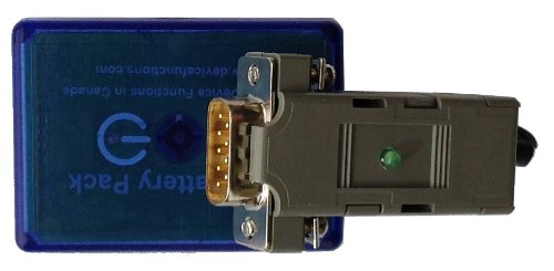 B102476 Bluetooth Serial RS232 Adapter, DB9 Male, Battery Power by Device Functions