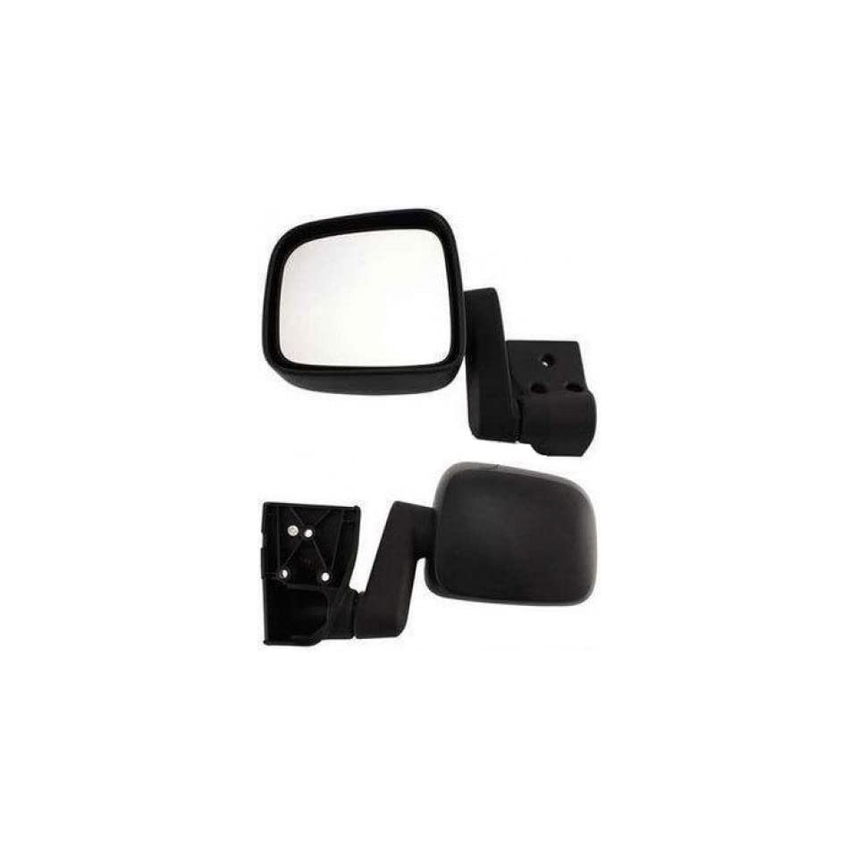 Discount Starter and Alternator 2728L Jeep Wrangler Driver Side Replacement Mirror Non Heated Manual Folding