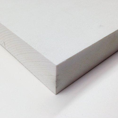 PVC Foam Board Sheet (Celtec) - White - 12 IN x 24 IN x 3 MM Thick (Board Thick Foam)