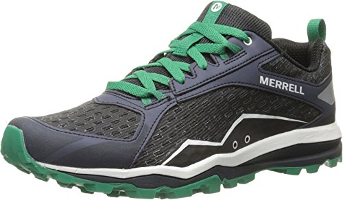 Merrell Mens All Out Crush Trail Running Shoe Navy 95 M US