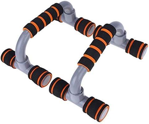 BXXU 1ペアフィットネスプッシュアッププッシュアップスタンドバースポーツエクササイズジムトレーニングチェストバーボディービル用プラスチックハンドグリップトレーナー